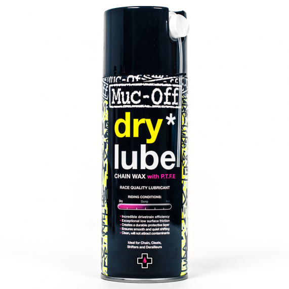 how to clean lube off