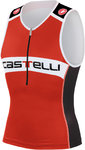 Castelli Core Tri Top Red/Black