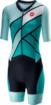 Castelli All Out W Speed Suit Turquoise/Green